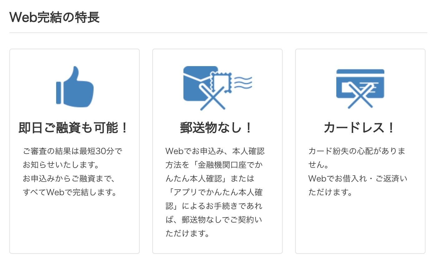 プロミス,web申込み